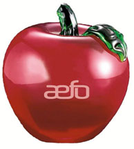 AEFO pomme decorative